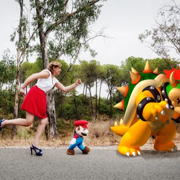 Un paseo con Mario Bros…