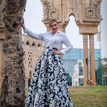 Maxi-falda Malevosa…