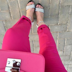 Muy buenos das! Mi look de hoy muy pink conhellip