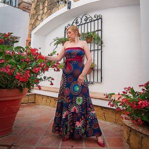 Buenos das con alegra! Os gusta mi vestido floral nohellip