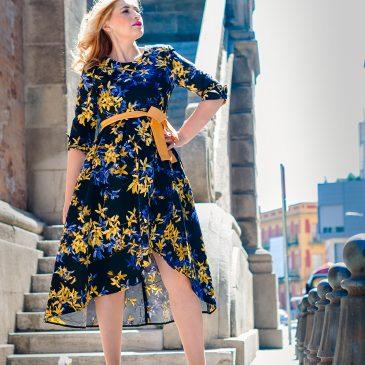 De paseo con mi vestido floral Cocoaspain…