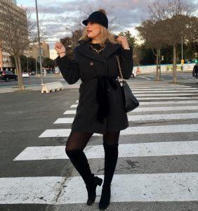 Happy day!! Street Style from Sevilla  Gargantilla mibuh Abrigohellip