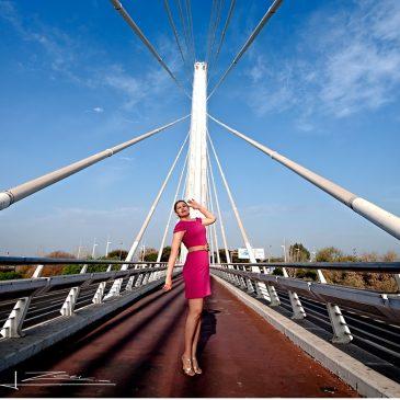 Paseo por el puente del alamillo…