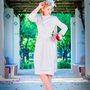 Invitada perfecta con mi vestido gris perla…